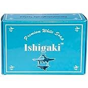 Ishigaki Premium White Glutathione Whitening Soap W/ Glutathione, Arbutin, Collagen, Virgin Coconut Oil Non Drying
