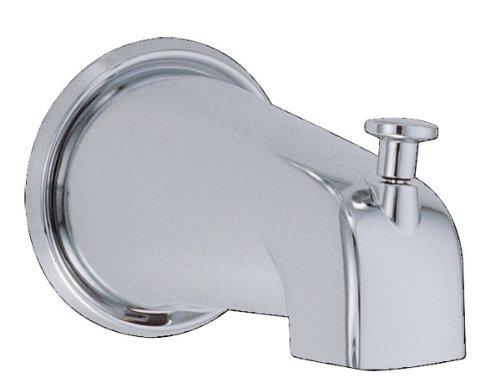 Danze D606425 8-Inch Wall Mount Tub Spout with Diverter, Chrome (Bath Tub Diverter compare prices)