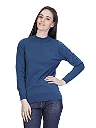 Women's Turtle Neck Full Sleeve Extra Fine Cotton Sweater
