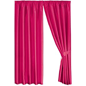 Best buy dreams 39 n 39 drapes java cerise eyelet lined for Where can i buy curtains online