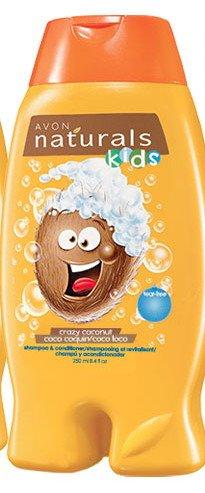 Avon Naturals Crazy Coconut Kids Shampoo & Conditioner 8.4 oz (250 ML) (Avon Shampoo And Conditioner compare prices)