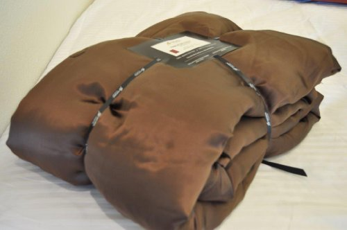 Imperial Silk Inside And Out Throw-Filling, Chocolate front-888734