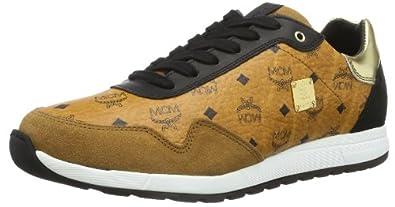 michalsky urban nomad runner x mcm 1415353 unisex erwachsene sneaker braun cognac monogram 736. Black Bedroom Furniture Sets. Home Design Ideas