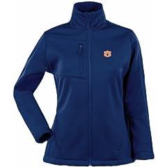 Antigua Ladies Auburn Tigers Traverse Fleece Back Full-Zip Jacket by Antigua
