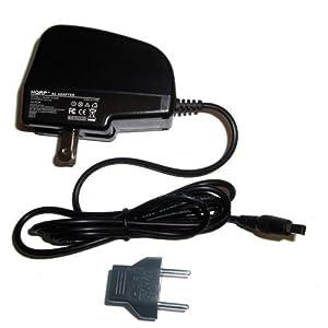 HQRP Wall AC Power Adapter, Charger, Square Connector for Samsung AA-E6A AA-E7 AA-E8 AA-E9 plus Euro Plug Adapter