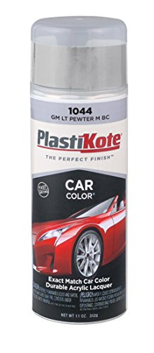 PlastiKote 1044 GM Light Pewter Metallic Base Coat Automotive Touch-Up Paint - 11 oz. (Spray Paint For Car Lights compare prices)