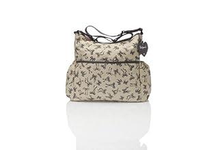 Babymel 10 Count Big Slouchy Tote Bag, Vintage/Crème Print by Babymel