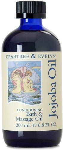 Crabtree & Evelyn Jojoba Oil Conditioning Bath & Massage Oil 200 ml