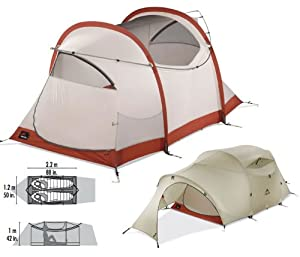 MSR Mo Room 2 Tent - 2 Person, 3 Season