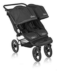 Baby Jogger City Elite Double Stroller, Black