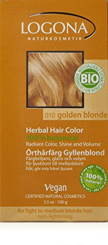 Logona Herbal Hair Color, Golden Blonde (Herbal Hair Dye compare prices)