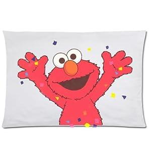 Amazon Com Custom Elmo Pillowcase Standard Size Design