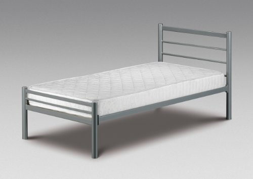 3ft Single Alpen Bed Frame with comfy Living Tanya Mattress