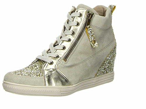 Tamaris Sneaker alta 1-25258-27 938 oro pettine, Tamaris Damen-Schuhe:38