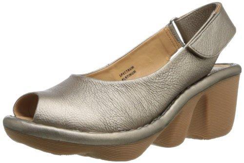 Earth Women'S Spectrum Wedge Sandal,Platinum,12 M Us front-848403