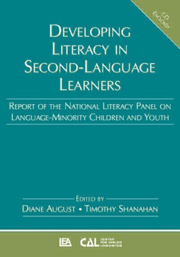 Image for Developing Literacy in Second-Language Learners: Report of the National Literacy Panel on Language-Minority Children and Youth