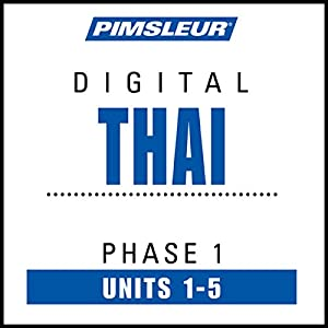 Thai Phase 1, Unit 01-05 Audiobook