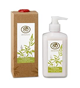 80 Acres Verde Hand & Body Lotion 10 fl oz