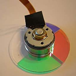 High Quality DLP Projector Color Wheel Replace For Optoma VE1X