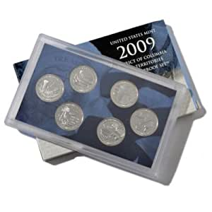 2009 U.S. Mint District of Columbia and U.S. Territories Quarter Six Coin Proof Set