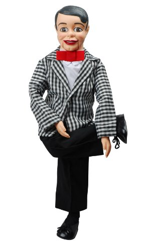 Danny O`Day Dummy Ventriloquist Doll, Voice of Nestlé Chocolate. One of the Most Famous Celebrity Dummies in 50`s & 60`s. Comes w/BONUS E-Book - How to Instructions to Learn Ventriloquism.