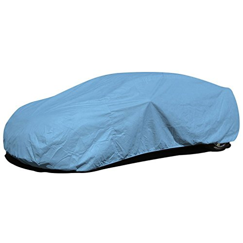 Budge Duro Car Cover Fits Sedans up to 228 inches, D-4  - (Polypropylene, Blue) (Dodge Charger Car compare prices)