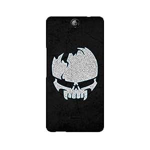 Ebby Crazy Skull Premium Printed Case For Micromax Canvas Juice 3 Q392