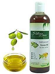 HillDews Pure and Natural Neem Oil (200 ml) - Cold Pressed