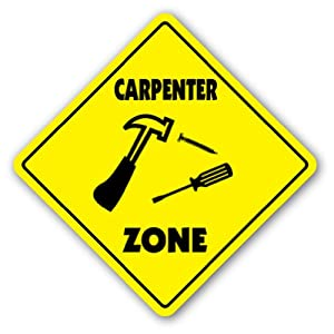 Amazon.com: CARPENTER ZONE Sign xing gift novelty hammer build house