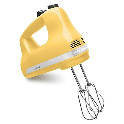 Learn More About KitchenAid KHM512MY 5-Speed Ultra Power Hand Mixer, Majestic Yellow