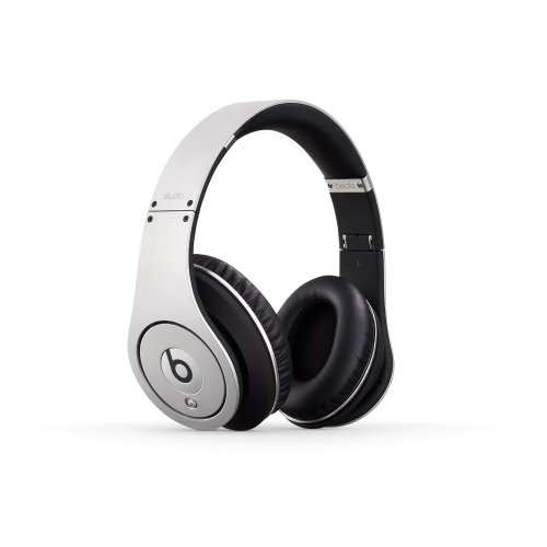Beats Studio Over-Ear Headphone (Silver) [Old Version]