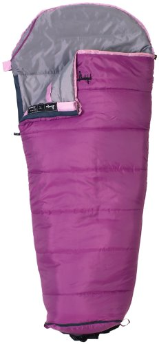 Slumberjack Go-N-Grow Girls 30 Degree Synthetic Sleeping Bag