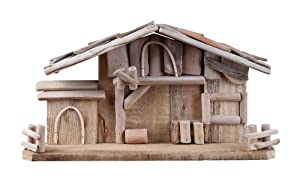 Napco Large Wooden Creche