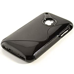 Elegante e robusto S-LINE TPU Cover Case per iPhone 3G / 3GS in NERO da KWMOBILE