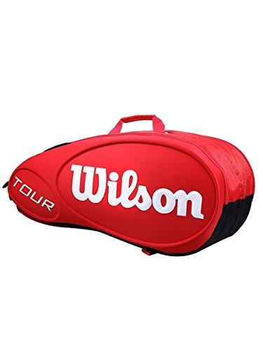 Wilson Tour 9 Portaracchette, Rosso