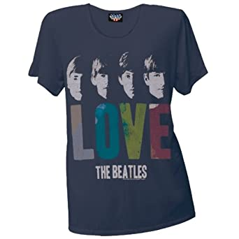 beatles love t shirt female