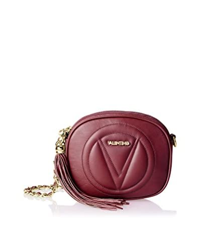 Valentino Bags by Mario Valentino Women's Nina Cross-Body Bag, Marsala/Ego