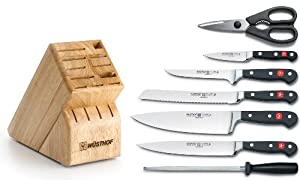 Wusthof Classic 8-Piece Deluxe Knife Set with Block