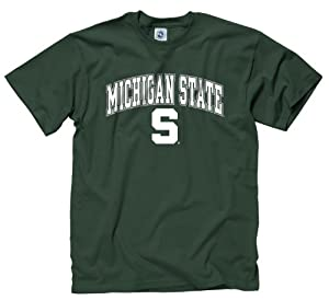 Buy Michigan State Spartans Adult Midsize Logo T-Shirt by Michigan State Spartans