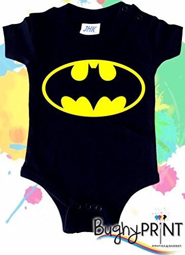 BODY tutina bimbo neonato Batman 6 mesi