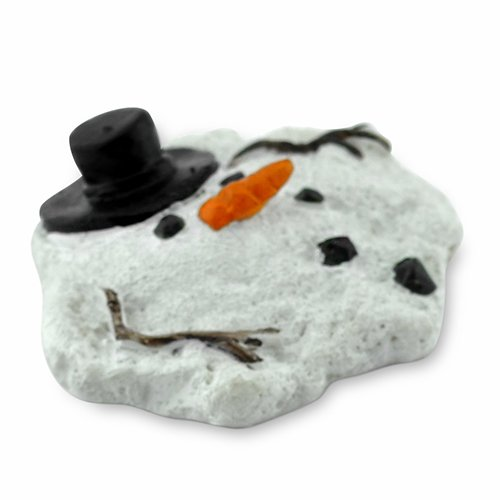 Miniature Fairy Garden Mini Melted Snowman (Outdoor Miniatures compare prices)