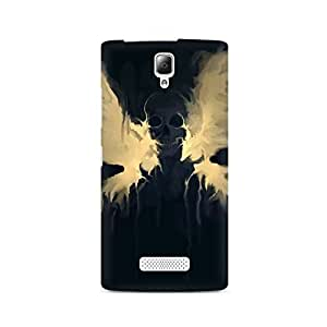 Mobicture Skull Abstract Premium Printed Case For Lenovo A2010