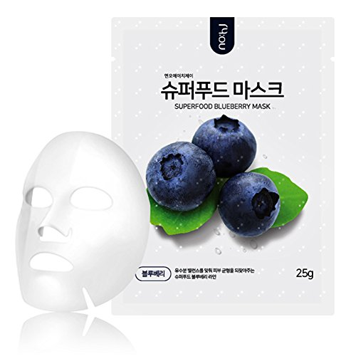 nohj-superfood-sheet-mask-10-sheets-natural-ingredients-ample-essence-hypoallergenic-blueberry