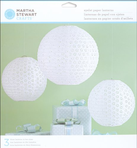 Buy Bargain Martha Stewart Crafts Doily Lace Eyelet Lanterns