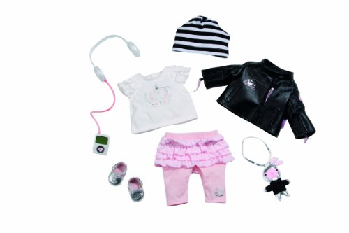 Zapf Creation 816295 - Baby born Deluxe Set Star mit Musik
