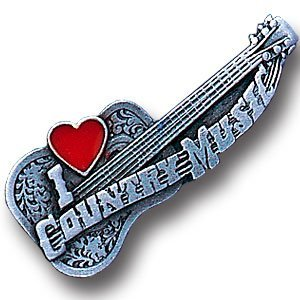 Collector Pin - I Love Country Music