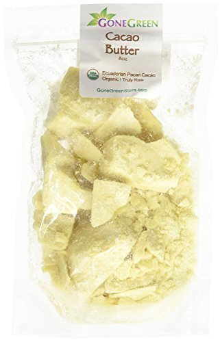 Raw Cocoa Butter 100% Pure 8oz ** SEALED BAG TO ENSURE FRESHNESS** by smellgood (Beyond Organic Chocolate compare prices)