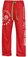Sriracha Hot Chili Sauce Distressed Label Adult Heather Red Lounge Pants