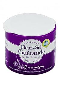French fleur de sel Guerande Le Guerandais-fleur de sel de Guerande - 125 gr