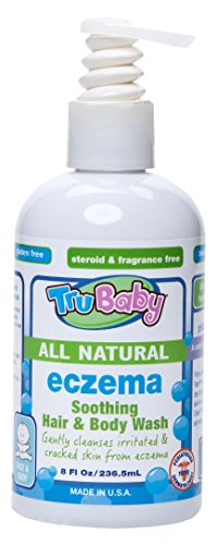 TruBaby Eczema Soothing Hair and Body Wash, 8 Ounce